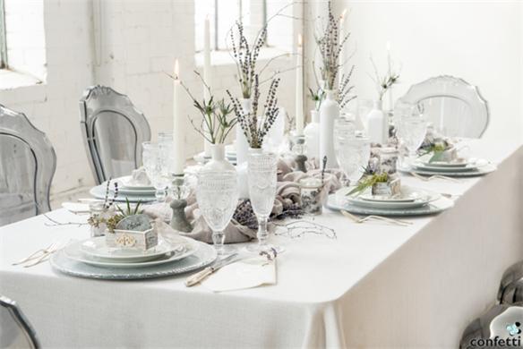 Hochzeit-Dekor-Winter