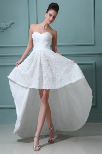 Sweetheart-High-Low-Brautkleid-Persunkleid