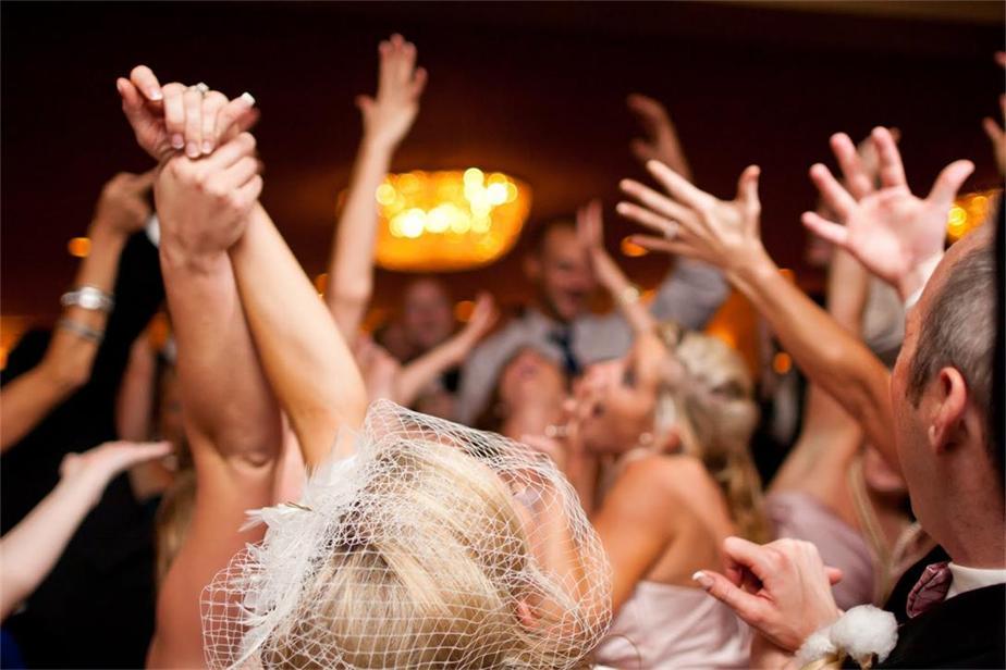 Hochzeit-Party