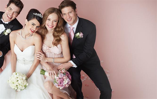 Hochzeit-Braut-Brautjungfer