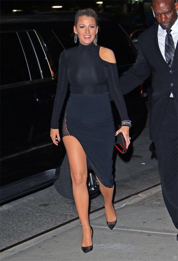 Schöne Outfits der Blake: Die Kleider für Schwangere | Persunkleid