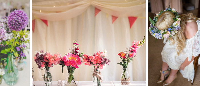 Blume-Hochzeit