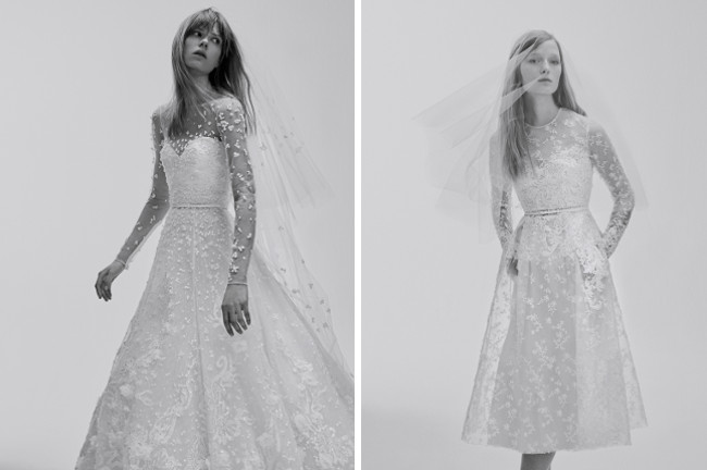 Elegant-Hochzeitskleid