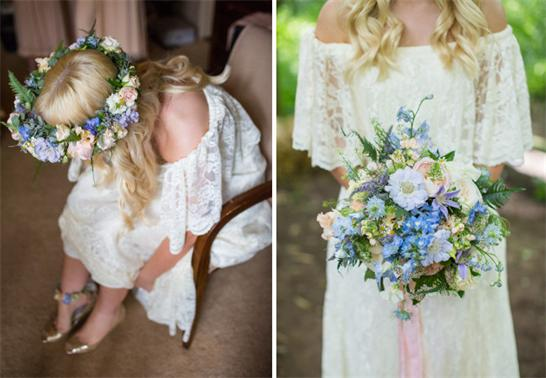 Hochzeit-Braut-Blume