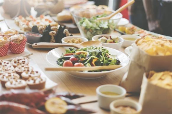 Hochzeit-frühstück