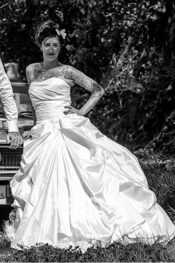 Neue Klassische Vintage Brautkleider Online Günstig Kaufen
