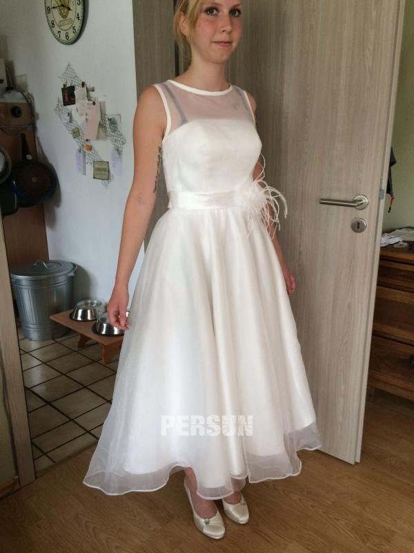 Billige Schöne Kurze Brautkleid 2018 Online Sale